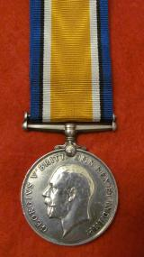 WW1 War Medal to P O Connor R Irish Fusiliers